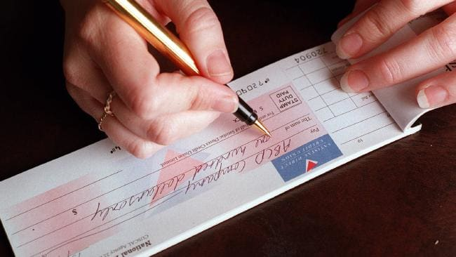 cheque debt credit recovery payment dues